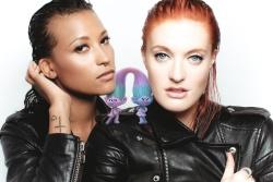 Icona Pop - DreamWorks' Trolls Fashionistas Promo Pic