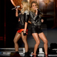 Miranda Lambert & Carrie Underwood Billboard Music Awards 2014 May 18, 2014