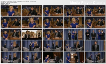 Charlize Theron - Tonight Show starring Jimmy Fallon - 5-20-14