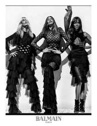 Claudia Schiffer - Balmain Spring/Summer 2016 Ad Campaign