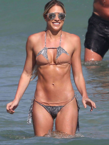 Barbie Blank - On a Beach in Miami - March 2nd 2017