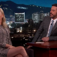 Charlize Theron @ Jimmy Kimmel Live | April 13 2017