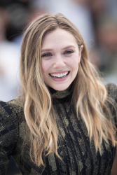 Elizabeth Olsen - Wind River photocall in Cannes 5/20/17