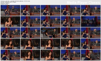 Julie Chen - Late Night with David Letterman - 5-13-14