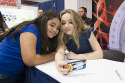 Sabrina Carpenter - 2015 D23 Expo: Day Two @ the Anaheim Convention Center in Anaheim - 08/15/15