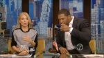Kelly Ripa | Short Skirt | Live with Kelly and Michael | 1-10-14