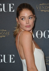 Doutzen Kroes - Paris Fashion Week Spring/Summer 2016: Vogue 95th Anniversary Party Photocall @ 51 Avenue d'Iena in Paris - 10/03/15