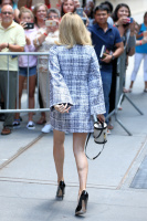 Allison Williams -           Leaving ''The View'' New York City July 17th 2017.