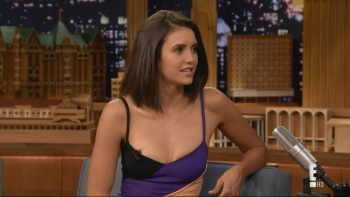 Nina Dobrev - The Tonight Show Starring Jimmy Fallon 17th January 2017 1080i HDMania