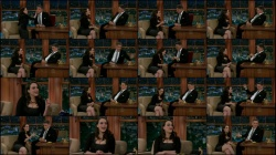Kat Dennings - Craig Ferguson - 11-8-13