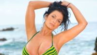 Denise Milani widescreen wallpaper
