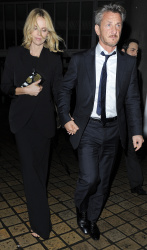 Sean Penn - Charlize Theron and Sean Penn - seen leaving Royal Festival Hall. London - February 16, 2015 (153xHQ) 0xFrMoBh