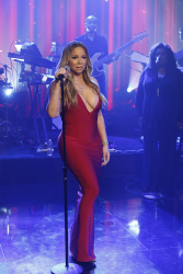 Mariah Carey - Jimmy Kimmel Live: February 15th 2017