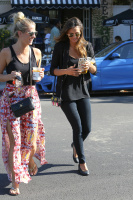 Nina Dobrev with Hilary at Alfred Coffee & Kitchen in West Hollywood (July 29) DgtruzEe