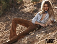 Rosie Huntington Whiteley - Paige Denim Spring/Summer 2016
