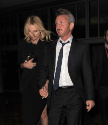 Sean Penn - Charlize Theron and Sean Penn - seen leaving Royal Festival Hall. London - February 16, 2015 (153xHQ) CS5A3asa