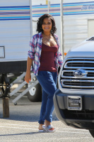 Christina Milian - On The Set Of 'Grandfathered' in Los Angeles (2/9/16)
