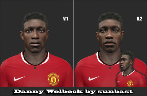 Download PES 2014 Danny Welbeck Face by Sunbast