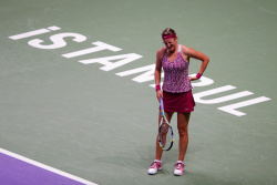 Victoria Azarenka - TEB BNP Paribas WTA Championships Day 4 in Istanbul 10/25/13