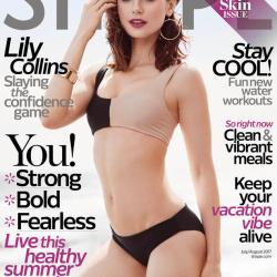 Lily Collins - Shape Magazine 6/22/17