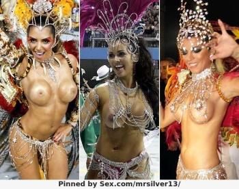 Completamente desnudo en el carnaval rio de janeiro
