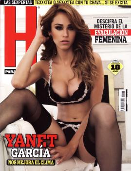 Yanet Garcia desnuda en revista h