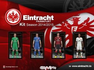Pes 2014 kit eintracht frankfurt season 14 15 by antonio for Villa eintracht