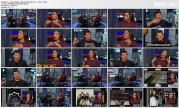 Jordin Sparks - Big Morning Buzz Live - 10-2-14 (SUPER leggy)