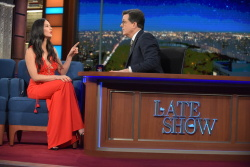 Olivia Munn - The Late Show with Stephen Colbert: December 9th 2016
