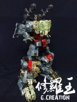 [GCreation] Produit Tiers - Jouet ShuraKing - aka Combiner Dinobots - Page 3 ZJ5IRRUO