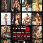 Gatas QB - Sexy Disco Excelsior Official Calendar 2015
