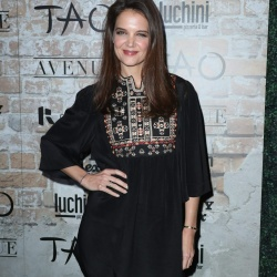 Katie Holmes - Tao Group Los Angeles Grand Opening Block Party in Hollywood 3/16/17