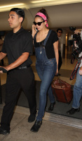 Nina Dobrev at LAX Airport (March 27) JK3ySF78