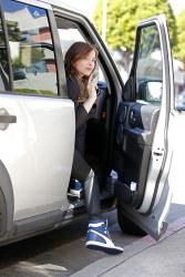 Chloe Moretz - at Yogurt Stop in LA 2/24/13