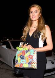Paris Hilton at Craig's Restaurant in West Hollywood 06-01-2015