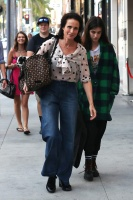 Andie MacDowell - Shopping on Rodeo Drive 11/5/16