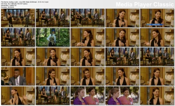 Ashley Judd - Live With Kelly & Michael - 9-10-14