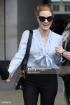 Jessica Chastain - at BBC Radio One Studios in London 5/5/17