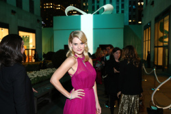 Alice Eve - Tiffany & Co. Blue Box Ball in NYC 4/18/13