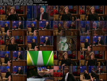 Meredith Vieira - Tonight Show with Jay Leno - 12-16-13