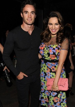 Thom Evans and Kelly Brook