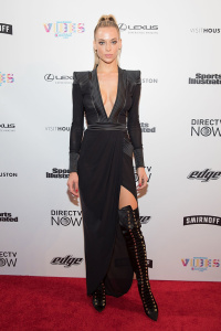 Hannah Ferguson - VIBES By SI Swimsuit 2017 Launch Festival in Houston - February 18th 2017