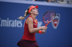 Angelique Kerber - 2015 US Open Day Six: 3rd Round vs. Victoria Azarenka @ BJK National Tennis Center in Flushing Meadows - 09/05/15