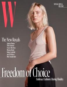 Saoirse Ronan -              W Magazine October 2017.