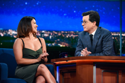 Gina Rodriguez - The Late Show with Stephen Colbert: May 16th 2017