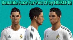 Download PES 2013 C. Ronaldo Face by EREKLE JR
