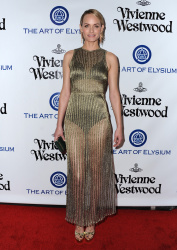 Amber Valletta - Art Of Elysium's 9th Annual Heaven Gala @ 3LABS in Culver City - 01/09/16
