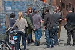 Карен Гиллан, фото 194. Karen Gillan - Set of 'Not Another Happy Ending' in Glasgow, Scotland - 7/20/12, foto 194