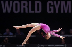 Madison Kocian - 2015 World Artistic Gymnastics Championships: Day Two @ The SSE Hydro in Glasgow - 10/24/15
