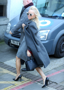 Pamela Anderson - Outside ITV Studios in London - February 13th 2017